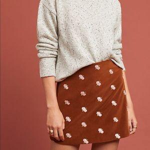 🆕 Anthropologie floral skirt
